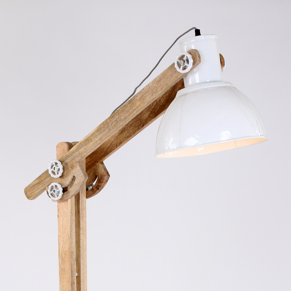 3 Arm Arc Floor Lamp >> siemens raritaet industrie lampe bauhaus design emaille ...